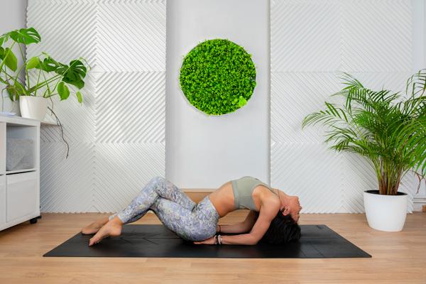Yoga pentru o coloana sanatoasa